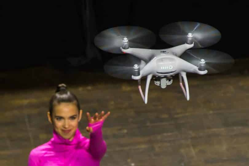 test drone chinois